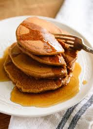 whole wheat gingerbread pancakes cookie and kate