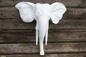 Elephant Room Decor Wall Mount Elephant Head They Design Wall Decor Intended For