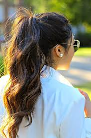 Little Girls Ponytail Hairstyles by Best 25 Curled Ponytail Ideas On Pinterest Ponytail Tutorial