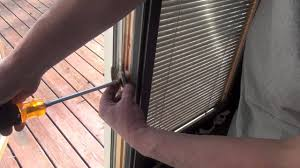 how to replace the lock in a pella casement window youtube
