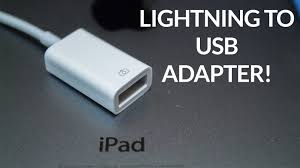 ipad lightning to usb camera adapter review youtube