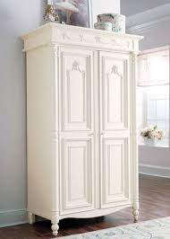 white armoire wardrobe bedroom furniture stanley young america isabella armoire with 2 doors traditional