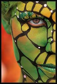 Halloween Costumes Snake Eyes 35 Body Paint Images Body Painting