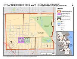 Map Of Milwaukee Wisconsin by Milwaukee U0027s Choice Neighborhood Housing Authority Of The City Of