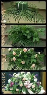 how to make a casket spray diy casket spray 1 soak 2 oasis foams and stack them on top of