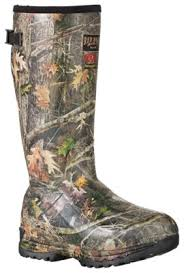 s muck boots size 11 guide insulated camo rubber boots for bass pro shops