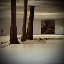 Zen Interiors Zen Garden Stone Basin With Autumn Leaf Drop By Drop Is The