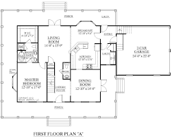 1 1 2 story floor plans house plan 2341 a montgomery a first floor plan traditional 1 1