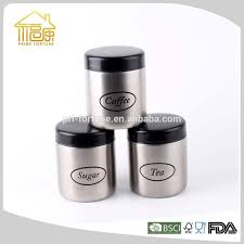 Kitchen Storage Canister by Stainless Steel Kitchen Canister Sets Stainless Steel Kitchen