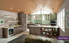 Kitchen Cabinets Chattanooga Tn In Kraftmaid U0027s Kitchen That Gets Creative It U0027s All About Blending