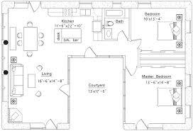 u shaped house u shaped house straw bale house plans