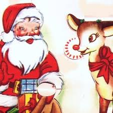 130 best rudolph the nosed reindeer and santa claus images on