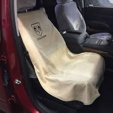 Dodge Ram Cummins Grill Cover - 1994 2017 dodge ram 1500 tan seat cover seat armour towel black