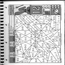coloriage magique cp maths
