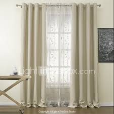 Standard Curtain Length South Africa by Rod Pocket Grommet Top Tab Top Double Pleat Two Panels Curtain