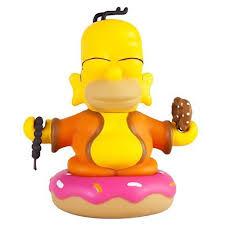 the simpsons homer buddha 3