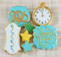 New Year S Cookie Decorations by 53 Best New Years Cookies Images On Pinterest