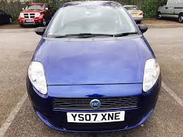 fiat grand punto active 2007 1 2 petrol service history manual