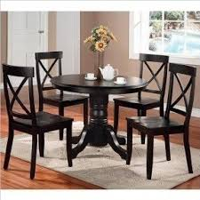 Dining Room Sets With Round Tables Foter - Black kitchen table