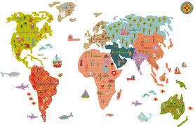 kinderzimmer weltkarten für kinder himbeer magazin - Weltkarte Für Kinderzimmer