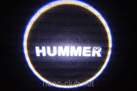 lexus logo projector puddle light hummer led car door lights neon logo