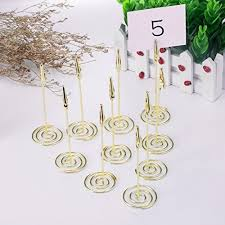 table number card holders 12 packs table number card holders with alligator clip photo memo