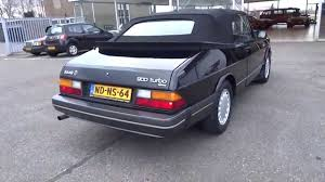saab 900 convertible saab 900 turbo convertible 1988 vemu cars sold youtube