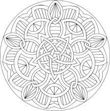 20 dessins de coloriage Mandala à Imprimer Gratuit à imprimer
