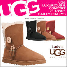 s ugg boots black allsports rakuten global market sold out charm s bailey