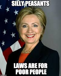 Meme Poor - silly peasants laws are for poor people meme