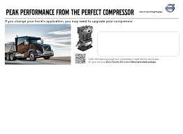 volvo trucks north america greensboro nc compressor partner volvo