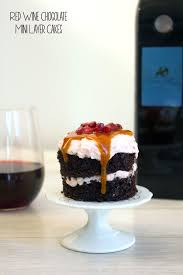 Wine Chocolate Red Wine Chocolate Mini Layer Cakes And Kuvée We Are Not Martha