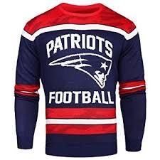 patriots sweater amazon com nfl patriots glow in the