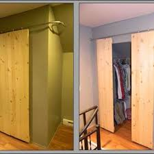 How To Build A Sliding Closet Door Build Sliding Doors Handballtunisie Org