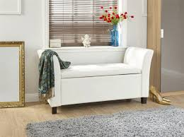extra long upholstered bench part 22 leather extra long storage