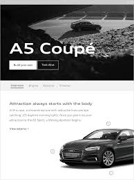 white and pink audi user interface ui introduction