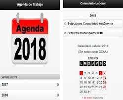 agenda apk calendario laboral 2018 agenda apk version 0 0 14