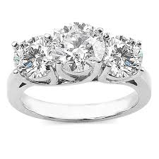 3 diamond rings 3 carat diamond ring diamond ring with choice of white or