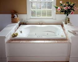 Bathtubs With Jets Faucet Com Esp6042wlr1xxa In Almond By Jacuzzi