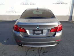 2013 used bmw 5 series 528i at honda mall of georgia serving