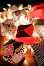 Festive Outdoor String Lights by How To Make Origami Lights With Scrapbook Paper Unsophisticook