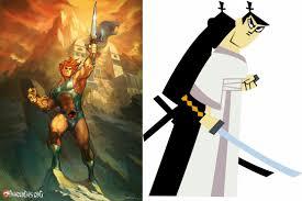 samurai jack battle of the week samurai jack vs lion o battles comic vine