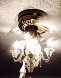 Chandelier Light For Ceiling Fan Interior Striking Chandelier Ceiling Fan For Great Living Room