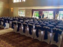blue chair sashes made marvellous chair covers ayrshire