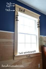 victorian farmhouse style super simple diy farmhouse window trim window window trims and