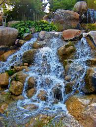 for landscaping water garden waterfall idolza