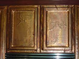 Foil Cabinet Doors Fabricating Copper Faced Cabinet Doors