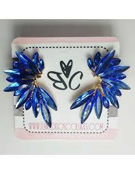 blue earrings blue earrings buy fashion jewellery online