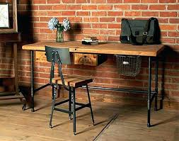 Home Office Desks Wood World Market Desk Wood Metal Desk Wood And Metal Desk Metal Wood