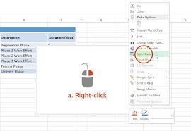 office timeline gantt chart excel step by step visual tutorial
